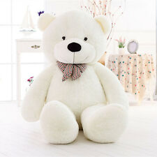 100CM Giant Huge Big Stuffed Animal White Teddy Bear Plush Soft Toy Romantic New