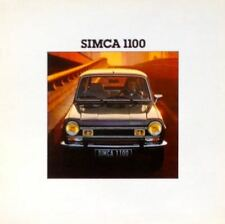 Simca 1100 • 1978 • LARGE Brochure Prospekt • Dutch • EXCELLENT