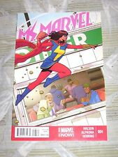 MS. MARVEL # 4 1ST PRINT G. WILLOW WILSON MUSLIM! MARVEL NOW! ADRIAN ALPHONA!