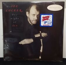 "JOE COCKER ""One Night Of Sin"" original vinyl LP still SEALED"