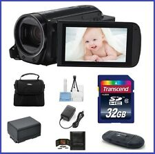 Canon VIXIA HF R700 HD Camcorder 32GB Bundle (Black) - USA Authorized Dealer