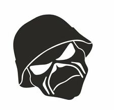 Iron Maiden Mask Vinyl Decal Sticker