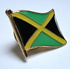 Jamaica Flag Lapel Pin Badge Superior High Quality Gloss Enamel