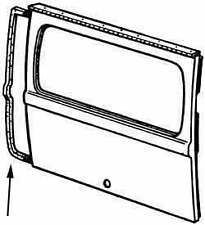 VW BUS REAR CARGO DOOR SEAL 1972-1979  211829193E