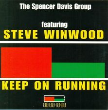 SPENCER DAVIS GROUP & STEVE WINWOOD - Keep on running 2TR CDS 1999 POP ROCK RARE