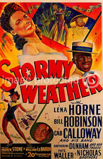 Stormy Weather Lena Horne Vintage Movie Poster  18x24