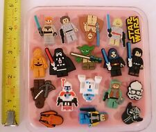 STAR WARS SET SILICONE MOULD FOR CAKE TOPPERS, CLAY ETC