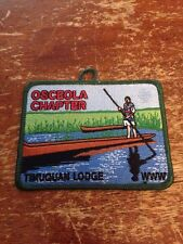 Timuquan Lodge #340 Osceola Chapter Patch New OA Order of the Arrow K167