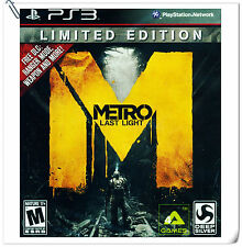 PS3 Metro: Last Light SONY PlayStation Shooting Games Deep Silver