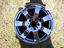 "MERCEDES ML350 ML320 ML500 R350 R500 17""OEM wheel 06-2006-07-2007 65366 CHROME"