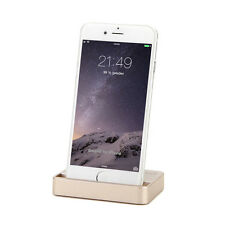 Dock Dockingstation iPhone 6 6S Plus 5 5C 5S SE Lade Gerät Daten Sync Gold