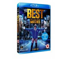 WWE Best of Pay-Per-View Matches 2013 2 Blu Ray Set orig WWF Wrestling