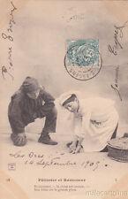 * CHIMNEY SWEEP - Patissier et Ramoneur 1909
