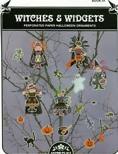 Astor Place Witches & Widgets Perforated/Paper Ornaments cross-stitch Pattern