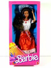 NIB BARBIE DOLL 1988 DOLLS OF THE WORLD MEXICAN