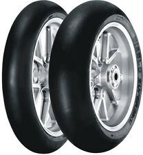 TIRE SET SUPERBIKE SLICK SC2+SC2 120/70-17 58W+190/55-17 75W PISTA PIRELLI 9BE