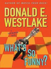 What's So Funny? (Thorndike Mystery)-ExLibrary