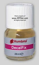 DECAL FIX Liquid - 28ml (1 oz.) HUMBROL Bottle #6134 - FREE SHIPPING