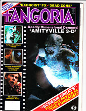 Fangoria No 31 1983 Amityville 3-D Cover - The Funhouse Pull Out Poster !