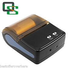 QS 5801 Useful Lightweight Mini Portable Bluetooth 4.0 Printer EU PLUG