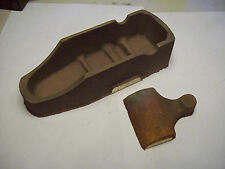Norris type cast bronze smoothing plane coffin sided rough casting