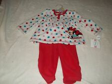 NEW MINNIE MOUSE OUTFIT INFANT GIRLS 12 MO'S