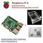 RASPBERRY PI 3 Model B 1GB RAM + Box Case + Heatsinkx3