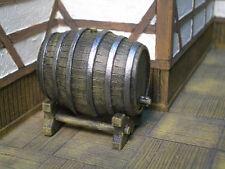 Wine Barrel Thomarillion Unpainted Resin Pewter Terrain D&D Dwarven Forge