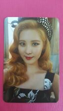 SNSD SEOHYUN Official Photo Card 5th YOU THINK Girl's Generation Photocard