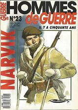 HOMME DE GUERRE N° 23 NARVIK - CHASSEUR POLONAIS / BETHOUART & DIETL / BORGHESE