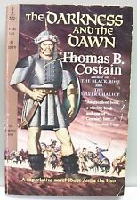THE DARKNESS AND THE DAWN Thomas B. Costain vintPB 1961 Attila the Hun Rome
