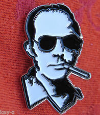 Original HUNTER S. THOMPSON Gonzo HST Pin Lapel Hat Fear Loathing grateful dead