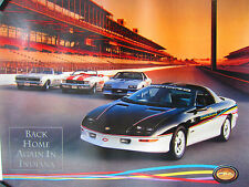 Chevrolet Dealer Camaro, Pace Car, Z28 Poster 1993- NOS