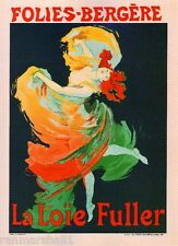 Folies - Bergere Vintage French France Poster Picture Print Art Advertisement