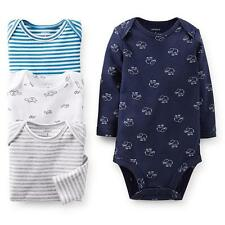 NEW NWT Carter's Newborn Boys 4 Pack Elephant Turtle and Striped