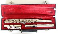 Artley USA Silver Flute 17-0 with Case Serial 58962
