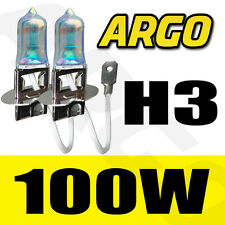 BMW 7 SERIES E66 H3 100W SUPER WHITE XENON HID FRONT FOG LIGHT BULBS PAIR
