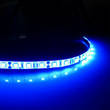 WOW - 4 X 30cm 18 SMD 5050 LED Flexible Strip Blue Light Car Lamp Waterproof 12V
