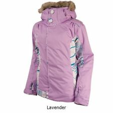 Women Oakley Cover Winter Ski Snowboard Jacket Coat Parka Large L Lavender