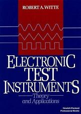 Electronic Test Instruments:  Theory and Application-ExLibrary