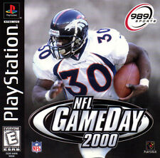 NFL GameDay 2000 PS1 Great Condition Complete Fast Shipping