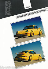 Bild-Prospekt Porsche 911 Turbo TechArt Exclusivprogramm 1994 Auto Pkw int Nr 14