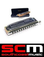 HOHNER Super Chromonica 270 Deluxe Harp Chromatic Harmonica Key of C New