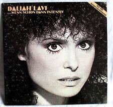 """12"""" Vinyl DALIAH LAVI - Wenn schon dann intensiv"""