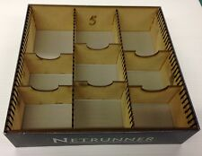 Android Netrunner Living Card Game PLAIN MDF Storage Box Figurine Fantasy