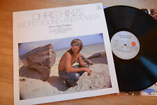 CHRIS HINZE Word Sound And Power Fusion Reggae TOSH SHAKESPEARE DUNBAR LP ariola