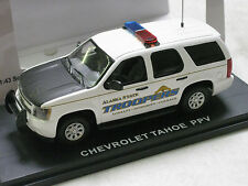 #136 First Response 1/43 CUSTOM AST Alaska State Troopers Chevy Tahoe Police SUV