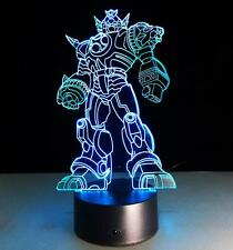 3D LED illusion Transformer Bumblebee 7 Colors Night Light Table Desk Lamp B187