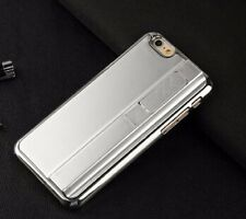 Silver Rechargin Phone Case With Cigarette Smoke Lighter Cover fr IPhone 5 5S SE