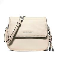 NWT MICHAEL MICHAEL KORS SMALL ISABEL ECRU MESSENGER BAG CROSSBODY CLUTCH
